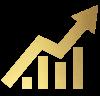 Wachstum gold